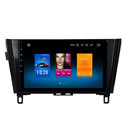 "Dasaita 10.2"" Android 8.0 Car Stereo Radio for Nissan X-Trail Qashqai Rouge 2014"