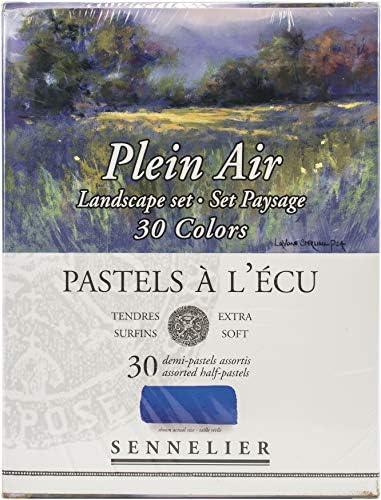 Savoir-Faire Sennelier Soft Pastels Half Stick Set 30/Pkg-Landscape