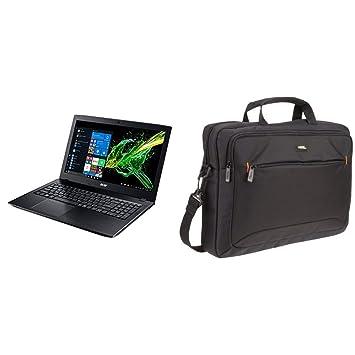 Acer Aspire E 15 Laptop, 15.6%22 Full HD, 8th Gen Intel Core, GeForce MX150, 8GB RAM Memory, 256GB SSD & AmazonBasics 15.6-Inch Laptop Computer and ...