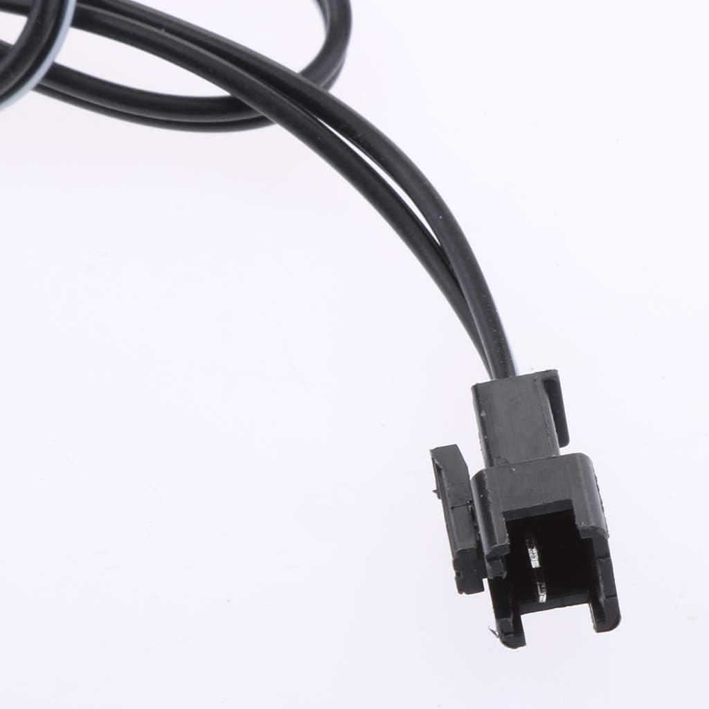 Schwarz USB Stecker zu SM-2P Buchse Ladekabel 60cm Synchronisierungs-Kabel f/ür RC Drohne Spielzeug