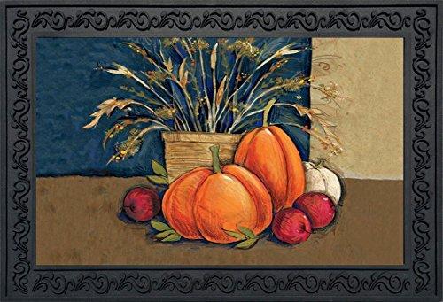 Briarwood Lane Fall Abundance Doormat Pumpkins Fruit Indoor Outdoor Pumpkins 18