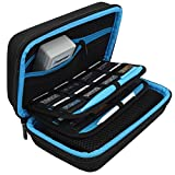 TAKECASE New 2DS XL and 3DS XL Carrying Case - Fits Wall Charger - Includes XL Stylus, 16 Game Storage, Hard Shell and Accessories Pocket (2DS XL Blue)