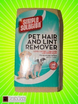 Simple Solution Pet Hair And Lint Remover, Now There Is An Easy Way To Get Rid Of All That Annoying Excess Hair That Lingers In Your House. Suitable To Use On Clothing, Upholstery, Curtains, Bedding, Tv'S, Electronics, Books, Shelving'S, Wallpaper, Blinds, Carpets, Rugs, Stone, Brick And Fireplaces - The List Is Endless!!