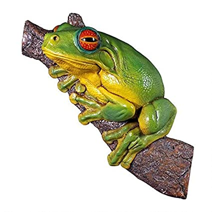 Design Toscano Red   Eyed Tree Frog Statue