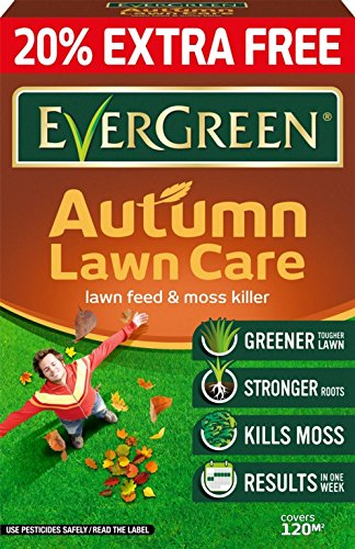 Miracle-Gro Evergreen Autumn Lawn Care 100m2 + 20% Extra - 119698