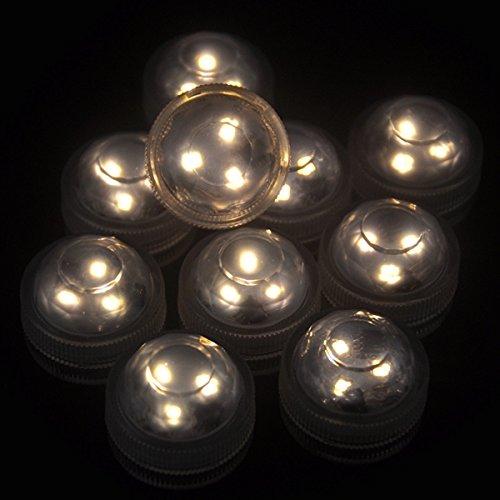 ZHENWOFC 1X 10X Fernbedienung Tauch LED LED LED Kerze Teelicht Wasserdichte RGB Tischlampe Dekoration Innenlicht (Farbe   10) B07P8DDRN4 | Exquisite (in) Verarbeitung  faebc1