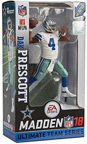 392945cb1c1 Amazon.com: McFarlane Toys Dallas Cowboys Dak Prescott Madden Figure: Toys  & Games