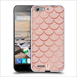 5fa8e04c620f Head Case Designs Rose Gold Mermaid Scales Soft Gel Case for ZTE ...