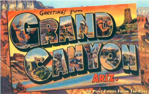 Greetings from the Grand Canyon Ariz.: 20 Postcards from the Past (Vintage Postcard) (Postcards From The Past)