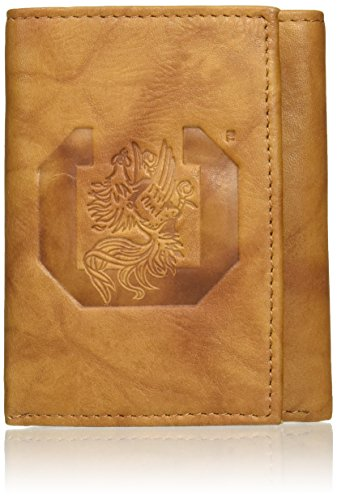 Gamecock Leather (NCAA South Carolina Gamecocks Embossed Genuine Leather Trifold Wallet)