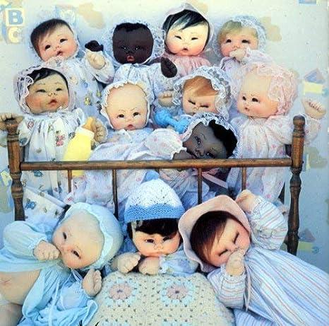 Sis Pi Soft Sculpture Dolls Pattern Collection by Pegasus Originals