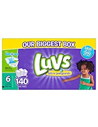 Luvs Diapers sz 6, 140 ct (Old Version) BOBEBE Online Baby Store From New York to Miami and Los Angeles