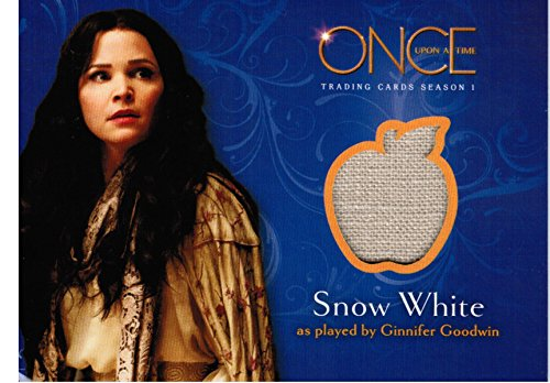 Snow White Once Upon A Time Costume (Once Upon a Time Wardrobe / Costume Card M01 - A Piece of Snow White's Wardrobe)