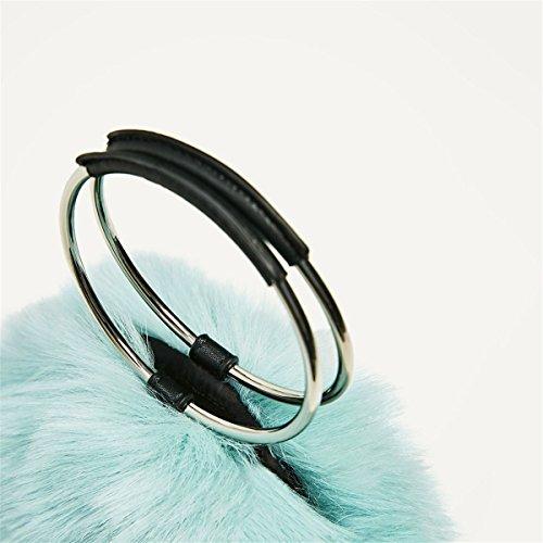 Moda Bolsos Casual Bolsas Bolsas de piel artificial, blanco Azul cielo