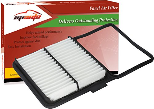 EPAuto GP159 (CA10159) Toyota Replacement Extra Guard Rigid Panel Engine Air Filter for Prius (2004-2009), Replace with Cabin Air Filter CP846 (CF9846A) - Panel Replacement Filter