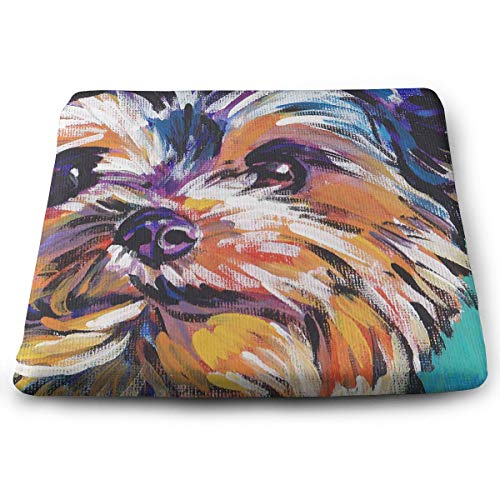 Comfortable Seat Cushion Chair Pad Puppy Face Painting Perfect Memory Foam Cushions Lighten The Bumps -