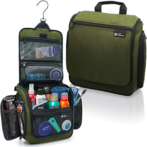 Hanging Travel Toiletry Bag for Men and