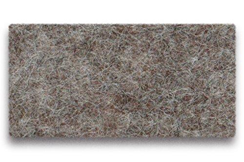 Hey-Sign Allrounder Tasche L, braunmeliert 100% Schurwolle 41x40x14cm