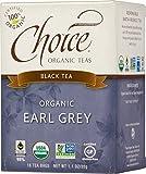 Choice Organic Teas Black Tea, Earl Grey, 16 Count Review