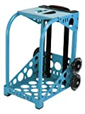 Zuca Sport Frame with Built-In Seat (Choose Your Color), for any Zuca Sport Insert Bag (Blue)