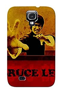 Protective Tpu Case With Fashion Design For Galaxy S4 (bruce Lee)