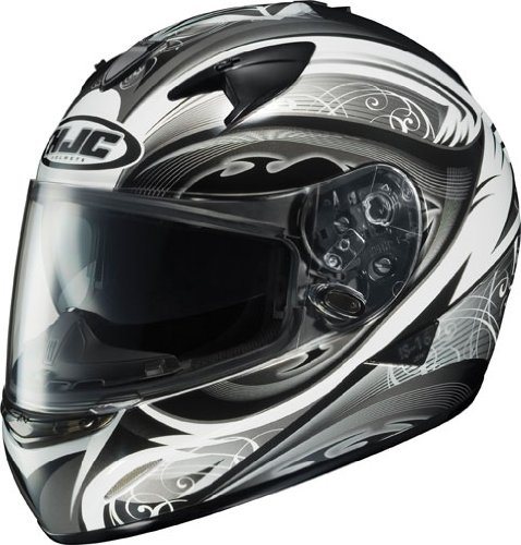 HJC Lash Women's IS-16 Sports Bike Motorcycle Helmet - MC-5 / Large