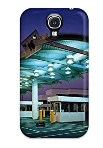 Defender Case For Galaxy S4, Architectural Buildings Pattern
