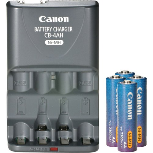 Canon CBK4-200 Rechargeable Battery and Charger Kit for PowerShot -