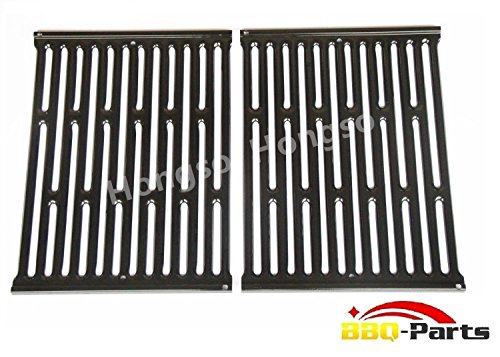 Hongso PCG523 Porcelain Enameled Grates BBQ Replacement for Weber Genesis Silver A and Spirit 500 gas grills; aftermarket replacements
