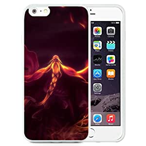 Beautiful And Unique Designed With Fire Flame Sword Old Man Magician (2) For iPhone 6 Plus 5.5 Inch TPU Phone Case