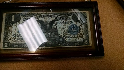 1-1899 $1.00 Black Eagle Silver Certificate in almost FINE (1899 Silver Certificate)