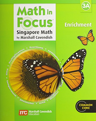 Math in Focus: Enrichment, Book 3A - Enrichment Book
