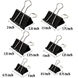 Binder Clips Paper Clamp for Paper-130 Pcs Clips