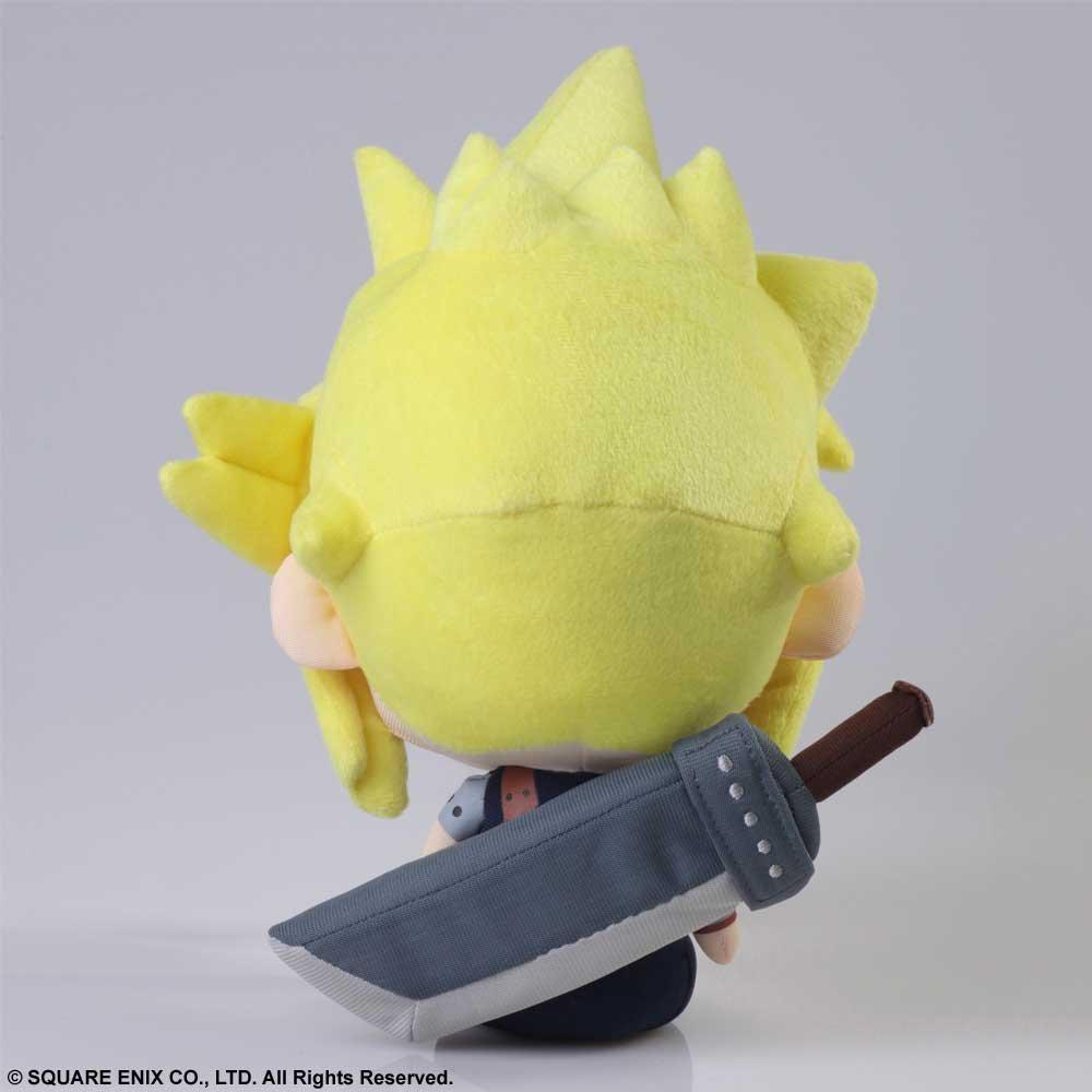 Square Enix Final Fantasy VII 10.5'' Cloud Strife FFVII Stuffed Plush by Square Enix
