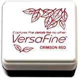 Versafine Pigment Small Ink Pad-Crimson Red