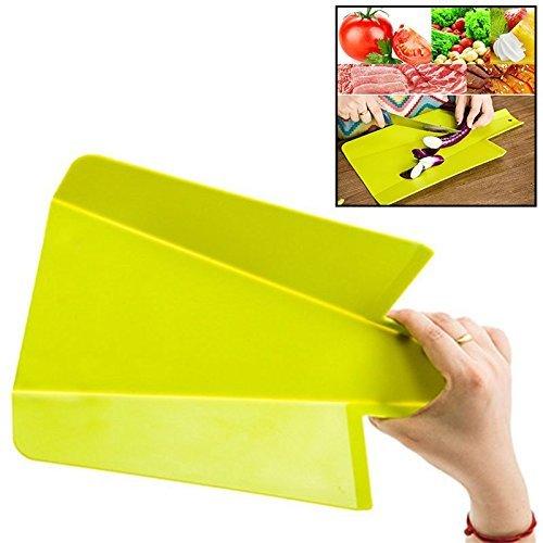 LTDD Folding Cutting Tasteless Chopping Anti Slip Board - Green