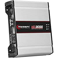 TARAMPS HD3000 2-Ohms Single Channel High Power Auto Amplifier w/High and Bass Boost & Low Pass Filter.