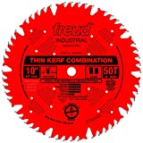 Freud 10' x 50T Thin Kerf Combination Blade (LU83R010)