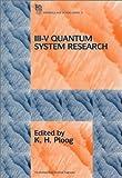 III-V Quantum System Research 9780852968246