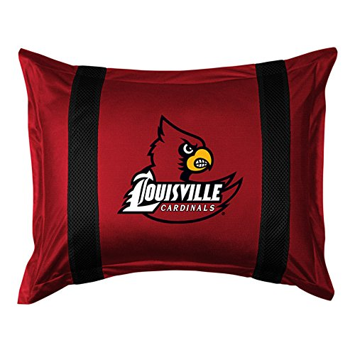 Cardinals Jersey Sham (NCAA Louisville Cardinals Sideline Sham)