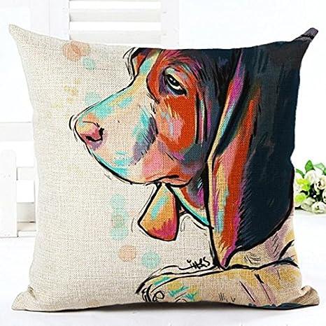 Amazon.com: eazyhurry rojo triste con impresión de perro ...