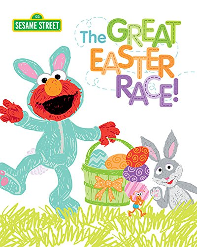The Great Easter Race! (Sesame Street Scribbles) by [Manning, Craig]