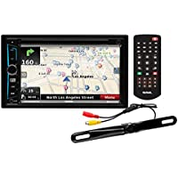 Sound Storm Laboratories DD965BNC Bluetooth Navigation, Receiver, 6.5 Touch Screen Monitor with Rear Camera
