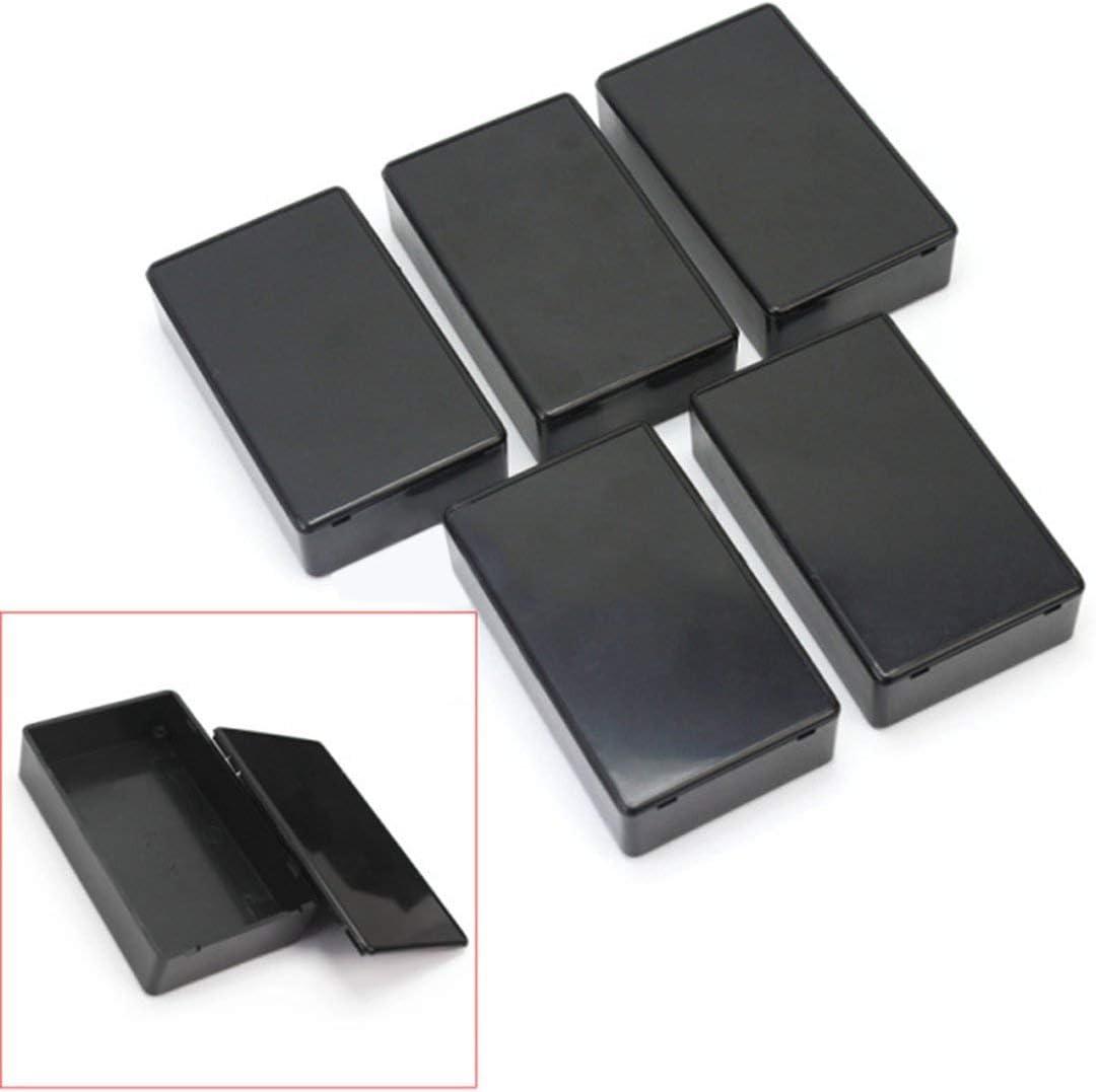 5pcs bo/îtier /électronique 100x60x25mm dinstrument de cl/ôture de bo/îte de projet /électronique