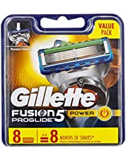 Gillette Fusion ProGlide Power Razor Cartridges Refill, 8ct