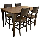 Ameri Home USA Amish Made Counter Height Dining Table