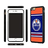 iPhone 7 TPU Case, Designer iPhone 7 Silicone Case shell Cover for Edmonton Oilers fans-with Tempered Glass Screen Protector