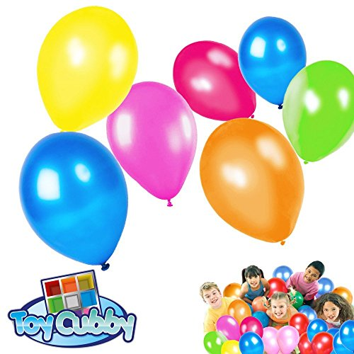 Latex Balloons - Mega Bulk Pack of 144 Colorful Adorable Balloons - Assorted Party, Holiday, Birthday Decoration! -