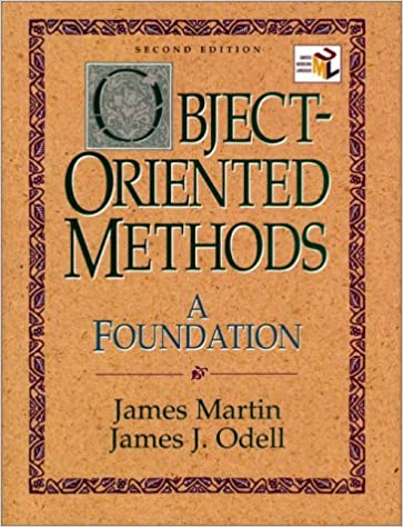 A Foundation 2nd Edition UML Edition Object-Oriented Methods