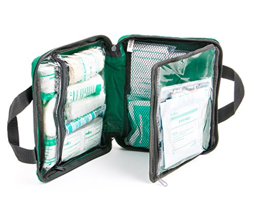 90 Pieces First Aid Kit - All-Purpose with Premium Medical Supplies and Soft Case for Home, Office, Car, Camping and Travel by The Body Source (Image #4)